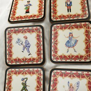 Holiday Coasters Pimpernel- Vintage